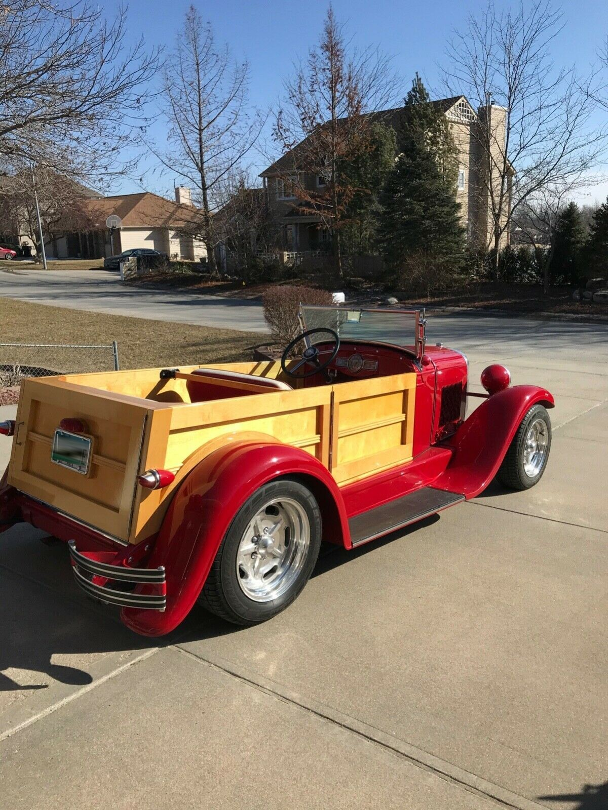 1927 Chevrolet Woodie Roadster Model A