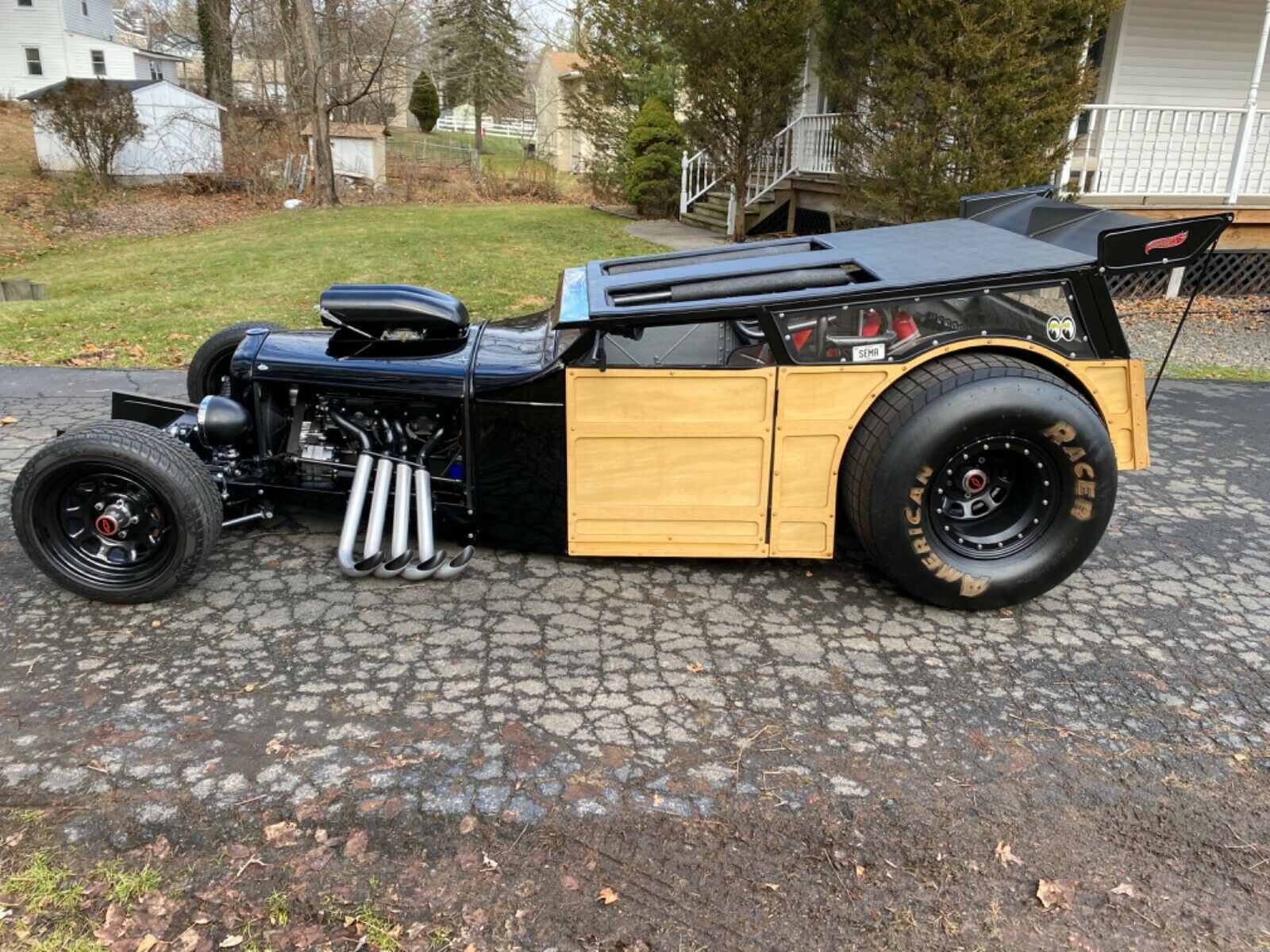1931 Chevrolet Woody Wagon 5 Window