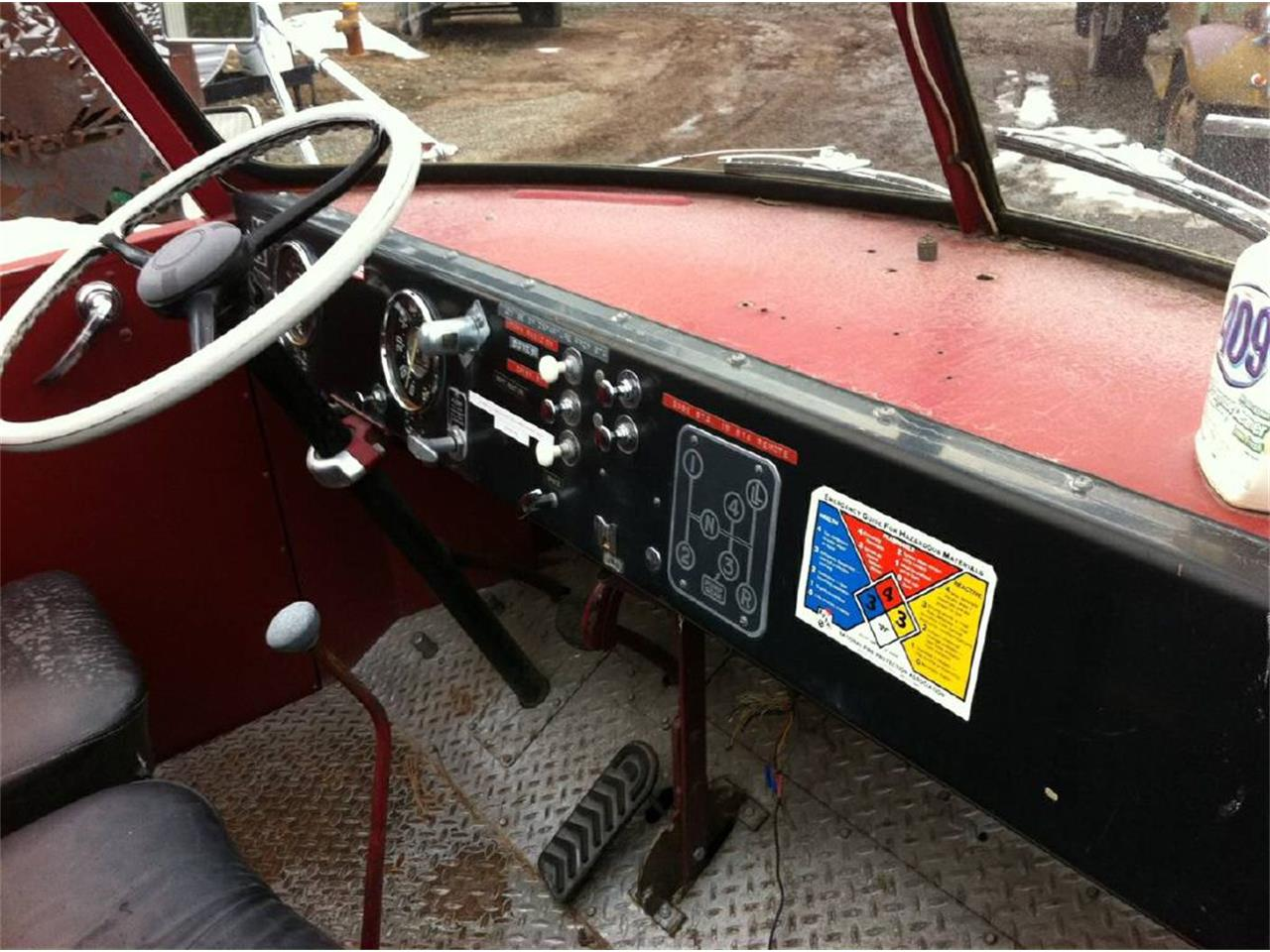 1954 American LaFrance Fire Engine