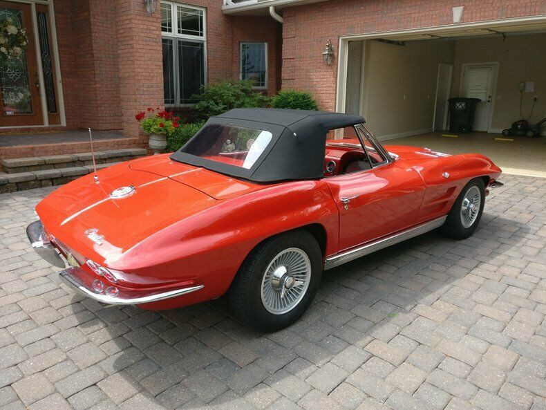 1963 Chevrolet  Corvette Red